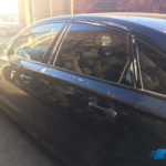 audi a6 2016 after door glass replacement