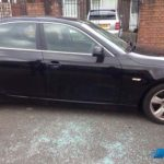 bmw 525 door glass replacement after photo