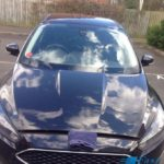 ford focus windscreen replacement before photo
