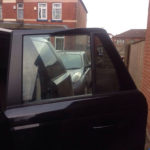 Land Rover sport Door Glass Replacement - After Photo
