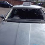 skoda octavia windscreen replacement before photo