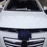 vauxhall astra front windscreen replacement before photo