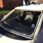 Volkswagen Passat Front Windscreen Replacement - Before Photo