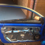 volkswagen polo 2005 before door glass replacement